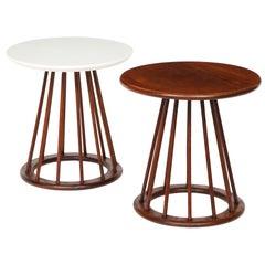 Set of Two Arthur Umanoff Side Tables for Washington Woodcraft