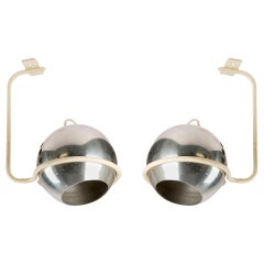 Set of Two Ceiling Lamps by Gino Sarfatti for Arteluce