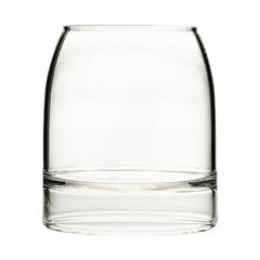 EU Clients Set of 2 Contemporary Minimal Rare Whiskey Glasses Handmade in Stock
