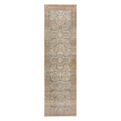 Shabby Chic Antique Persian Malayer Runner Rug. Size: 3 ft. 7 in x 12 ft. 2 in