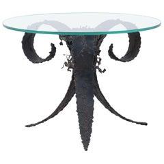 Silas Seandal Brutalist Side Table