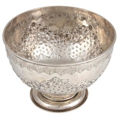 Silver Bowl by J. Hunt and R. Roskell, England, 1905