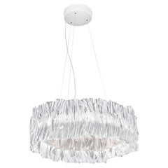 Slamp Accordéon Prisma White 3000K Chandelier by Marc Sadler