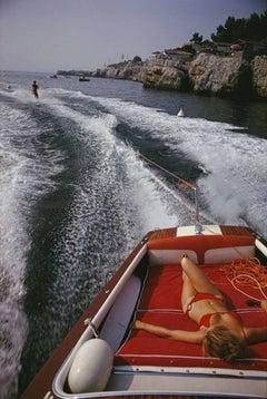 'Leisure In Antibes' (Slim Aarons Estate Edition)