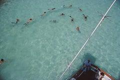 Slim Aarons Estate Edition - Swimming In Bermuda