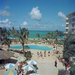 Slim Aarons - Nassau Beach Hotel - Estate Stamped