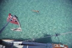 Swimming in Bermuda, 1977 (Slim Aarons, 20th Century, Sea, Ocean, Water)