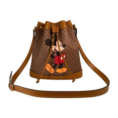 SOLD OUT Gucci Mickey Mouse Year of the Rat Bucket Bag Purse