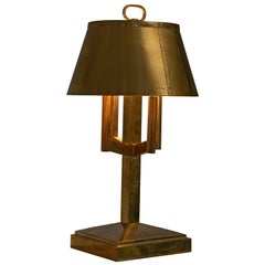 Solid Brass Table Lamp, 1940s