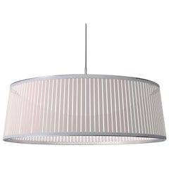 Solis Drum 36 Pendant Light in White by Pablo Designs