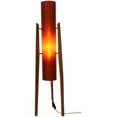 """Space Age Midcentury Floor Lamp """"Rocket"""", 1970s"""
