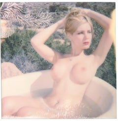 Angie - Heavenly Falls - Contemporary, 21st Century, Polaroid, Nude