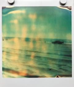 Lifeguard (Malibu) - Contemporary, Landscape, expired, Polaroid, analog