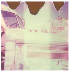 Salvation Mountain I - Slab City (California Badlands) - Polaroid, 21st Century