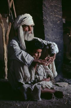 Father and Son in Helmand Province, Afghanistan, 1980
