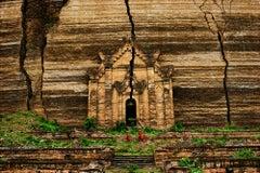 Mingun Pagoda, Mandalay, Burma, 1994 - Colour Photography, Landscape Photography