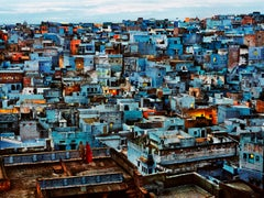 The Blue City, India, 2010 - Colour Photography