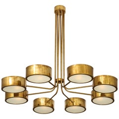 Stilnovo Eight-Light Chandelier