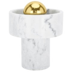 Stone Table Lamp in Morwad Marble by Tom Dixon