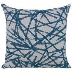Strobelite Pillow in Teal by Curatedkravet