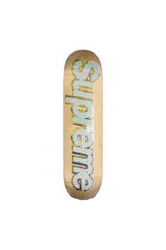 Supreme Bling Skateboard Deck Gold - Year 2013