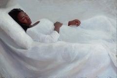 Sleeping Girl - 21st Century Contemporary Oil Painting by Svetlana Tartakovska