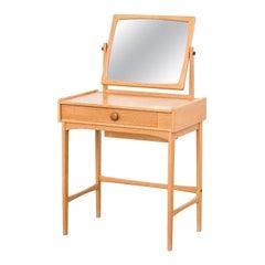 """Swedish """"Palett"""" Vanity Table in Oak by AB Nybrofabriken, Fröseke"""