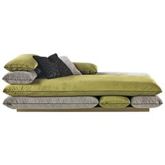 Template Right Chaise Longue in Fabric by Roberto Cavalli