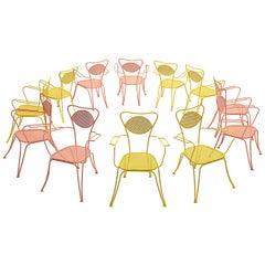 Terra Rosa Orange Patio Outdoor Chair