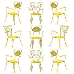 Terra Rosa Yellow Patio Outdoor Chair