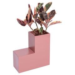 Tetris Planter, Rose Pink Fiberglass Planters