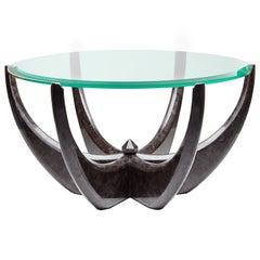 """The Diamond Ring"" Marble Coffee Table by Grzegorz Majka"