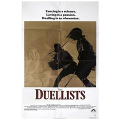 """""""The Duellists"""" 1977 U.S. One Sheet Film Poster"""