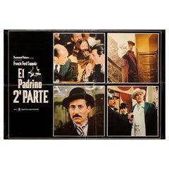 The Godfather: Part II 1975 Italian Fotobusta Film Poster