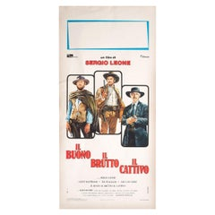 The Good, the Bad and the Ugly R1970s Italian Locandina Film Poster