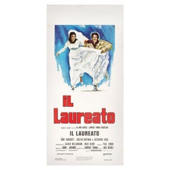 The Graduate R1972 Italian Locandina Film Poster