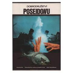 'The Poseidon Adventure' 1976 Czech A3 Film Poster