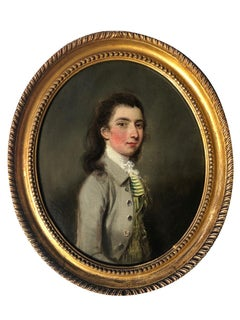 18th century Portrait of a Young Gentleman.