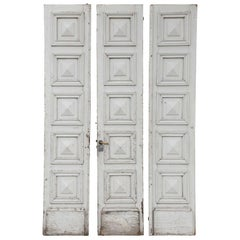 Three Antique French Doors