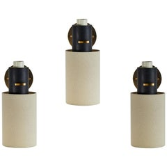Three Sconces by Lunel