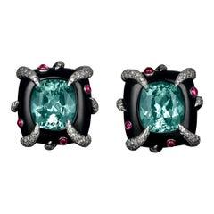 Tiffany & Co. Cuprian Tourmaline Earrings