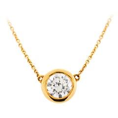 Tiffany & Co. Elsa Peretti Solitaire Necklace
