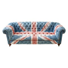 Timothy Oulton Design Union Jack Tufted Chesterfield Sofa