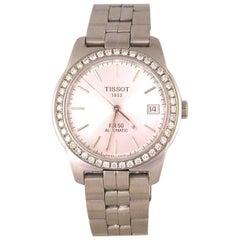 Tissot PR50 Men's Watch Stainless Steel White Diamonds