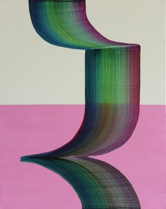 Untitled 13 -  Contemporary Abstract and Colorful Painting, Conceptual Art