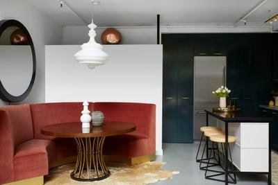 Black Lacquer Design - silver lake loft