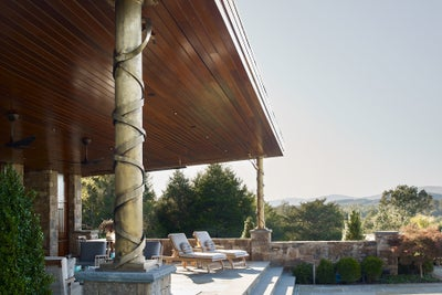 Purple Cherry Architects - Charlottesville Pool House