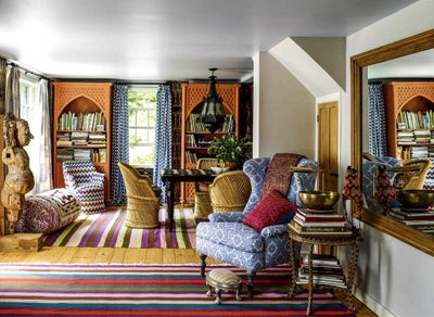 Sara Bengur Interiors - John Robshaw's Country Home