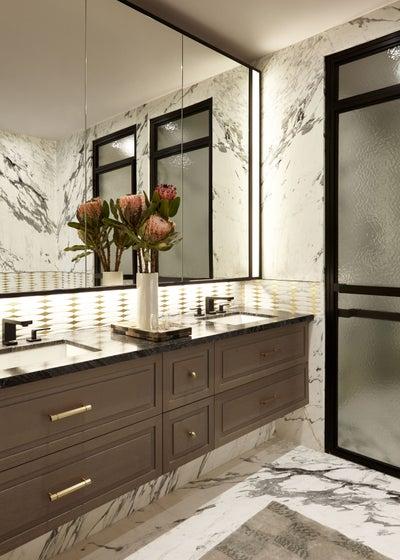 Kati Curtis Design - Contemporary Tribeca 5 Bedroom Apartment