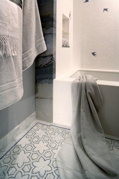 Interior Design Imports - Nursery Bathroom in New York